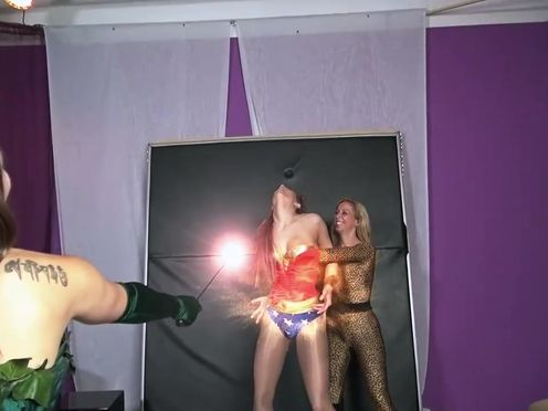 clips4sale Primal s Darkside Superheroine - Wonder Star VS Ivy Girl 2 720p
