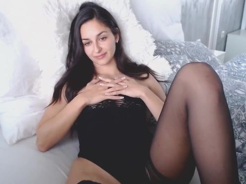 worshipme_ skinny babe pleases with her appearance