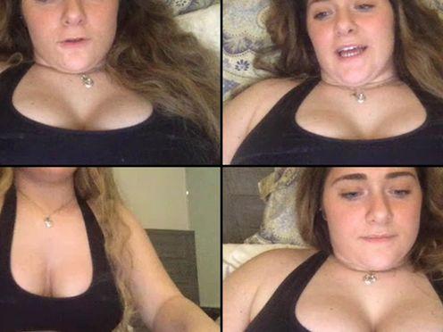 VirginJade37  Strokes her Ass in puclic room